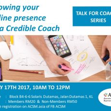 Growing your ONLINE PRESENCE as a Credible Coach