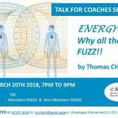 Talk for Coaches - Energy