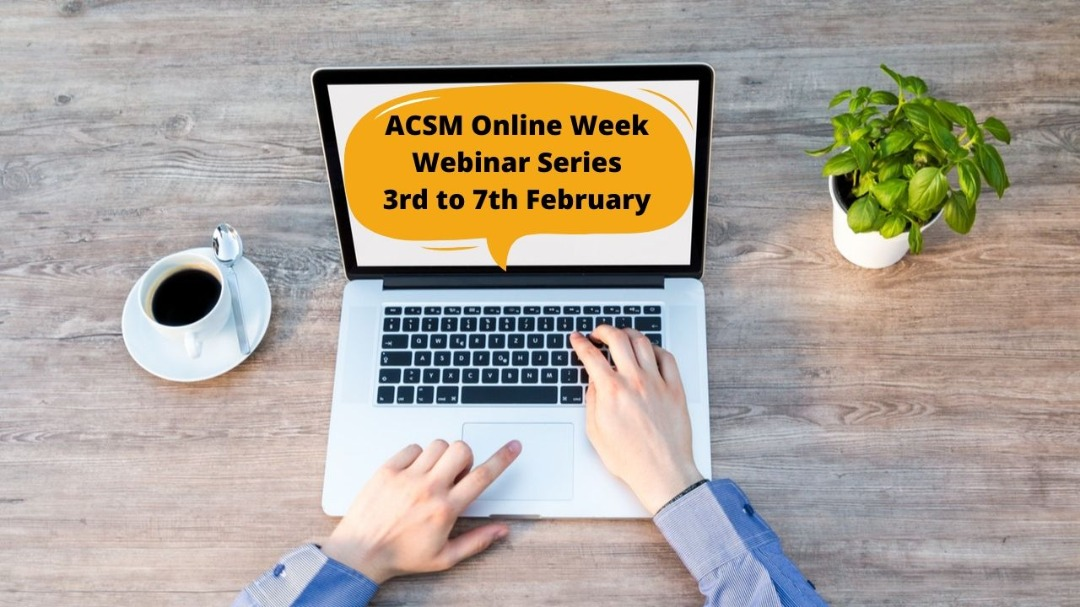 ACSM online week